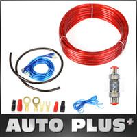 Speakers K1033 Speakers Sets DIY 1500W Car Audio Wire Wiring Amplifier Subwoofer Speaker Installation Kit 8GA Power Cable 60 AMP Fuse Holder