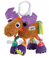 Jets Plane Metal Multicolor Lamaze deer baby crib toy baby bed hanging educational toys early development plush 10.2""