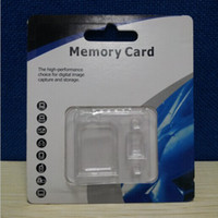 Wholesale Empty Blister Retail Package For Micro SD Card TF Memory Card GB adapter reader SDHC cell phone MP3 ego Case box bag