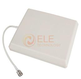 Панель направленной антенны Онлайн-Бесплатная доставка панельная антенна для GSM / 3G CDMA сотовый телефон сигнал повторителя / Booster Indoor Направленная настенное крепление для подвешивания антенны