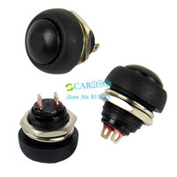 New TK0304# 2.2cmx 1.7cm(Approx) New 30PCS LOT Black Momentary OFF (ON) Push Button Horn Switch Free Shipping TK0304