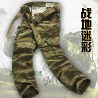 Wholesale High Quality Casual Cargo Pants for Men Long Trousers Pockets Overall Millitary Style Work Trousers for Men with BELT K88