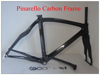 Wholesale Pinarello Dogma BB30 BB68 Clear Coating Bike Frames Special Carbon Road Bike Frame Black No Decal mm Availalabl Frame