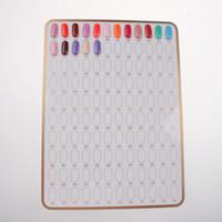 Wholesale Hot Rooms For Nail Art Finish Tips Display Board Stand Nail display boards