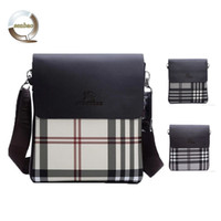 Wholesale New arrival hot sale fashion men bags brand ba messenger bag high quality genuine leather male hasp cover bag