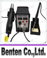 Wholesale in Soldering Station Hot Air Gun Soldering Iron SAIKE D V V LLFA6037