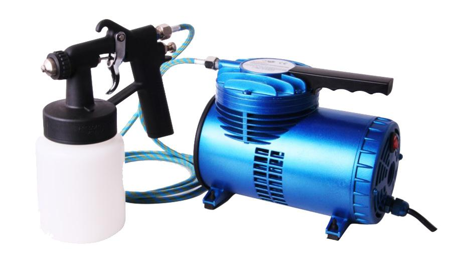 2017 fengda oil free as 06k mini air compressor kit with for Spray gun for oil based paints