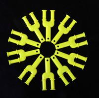 Wholesale DIY Rainbow Loom Kit Hook Loom Bands Tool Plastic Mini Y Hook M1023