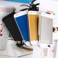 For Apple iPhone Metal Case 4 Colors 3000mAh Emergency Power Bank Cover Backup Battery Charger Case For Iphone 5 5S