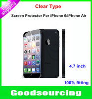 Wholesale Film For iPhone Clear Cover Shield Screen Protector Protective Film For iPhone iPhone Air inch