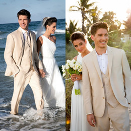 Wholesale 2014 High quality Champagne Groom Tuxedos Groomsmen Best Man Men Wedding Suits Prom Formal Bridegroom Suit Custom made EM02764