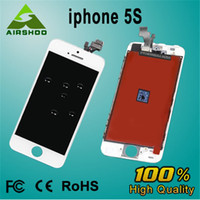 For Apple iPhone   iPhone 5S Replacement Repair spare parts Full Assembly Front LCD Display Lens With Touch Screen Digitizer also sell iphone 4G 4C 4S 5G 5C