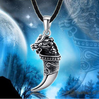 Wholesale Extreme Spike Men Langtou personality titanium steel casting pendant necklace never fade new jewelry
