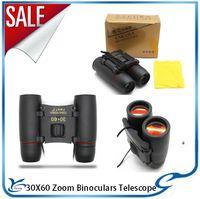 Wholesale Cheap Binoculars x60 Blue Membrane Portable Mini Pocket Telescope Night Vision