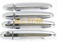 Wholesale Brand New Chrome Door Handle Cover Trim for Toyota Camry Yaris Corolla RAV4 Matrix Solara Prius CA01163 F