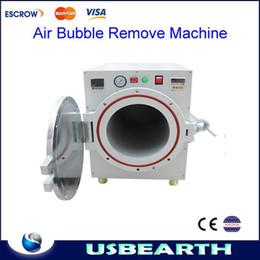 High Pressure Autoclave OCA Adhesive Sticker LCD Bubble Remove Machine For Glass Refurbishment