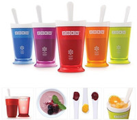Wholesale Hot new Zoku fruit juice smoothie cup DIY milkshake cup ice cream machine fruit smoothie cup maker with retail box