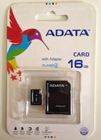 al por mayor 8gb micro sd cards-100% Real ADATA 1 GB 2 GB 4 GB 8 GB 16 GB 32 GB 64 GB 128 GB 256 GB Class10 Tarjeta Micro SD TF Tarjeta SDHC Adaptador SD Paquete minorista