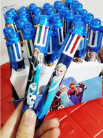 Wholesale children pen color pen frozen pen Hot Romance ballpoint snow box