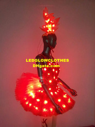 Wholesale Sweatheart Evening Dresses Wedding Ladies Costume Custom Size and Color Dress for Women LED Glowing Ball Gown LED Party Wear Sexy Mini Dress