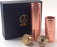 Cheap Newest Mod 1:1 Clone Full Copper Vanilla Mod 4nine Cig for Vaporizer Pen Ecig Vs Stingray Stainless Nemesis 26650 Panzer And Kayfun Atomizer