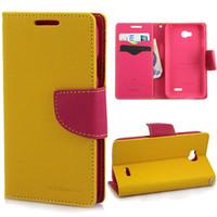 Cheap For LG Mercury case Best PU  flip book case