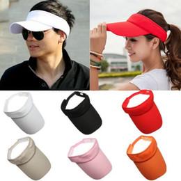 Fashion Women Man Golf Cotton Summer Sun Visor Sport Hats Tennis Baseball Caps
