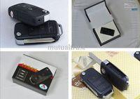 Wholesale Spy car key camera S818 with Motion Detection Mini DVR keychain hidden mini camera fps with TF Crad Slot Free Ship