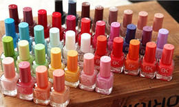 Wholesale 28 Colors BK Brand Nail Polish With Flavor Seconds Fast Drying Nail Polish Armor Nail Oil Manicure Tools TN1