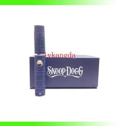 Wholesale Hot snoop Dog Wax vaporizer with glass tank clearomizer atomizer filter