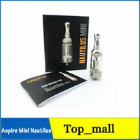 2.0ml Glass Aspire 100% Genuine Aspire Nautilus Mini BVC Coil Atomizer Aspire Mini Nautilus 2.0ml Bottom Vertical Coil With Serial Nautilus Mini Version 002024