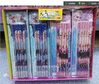 Wholesale New Sale X Frozen Elsa Anna students pencil Stationery School supplies