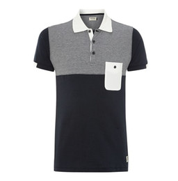 Wholesale 2014 Fashion polo shirt of embroider for men s polo shirt