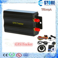 Wholesale Real Time GSM GPRS Tracking Vehicle Car GPS Tracker A Tk103A TK103 GPS103A Real time tracker M