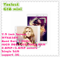 Teclast 7.9 inch Quad Core Tablet PC Teclast G18 mini 3G MTK8389 Quad Core 1.2GHz 7.9 inch IPS Screen 10274*768 1GB RAM+16GB ROM 2.0+5.0MP Camera Tablet DHL free