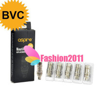 Cheap Original Aspire BVC vertical coil heads for aspire nautilus mini airflow control atomizer Coils head 1.6ohm 1.8ohm DHL In Stock 002425