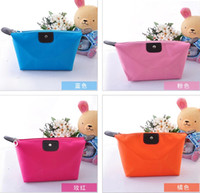 Wholesale south Korean cosmetic bag folded waterproof wash makeup bag Colors Xmas Gift TN2