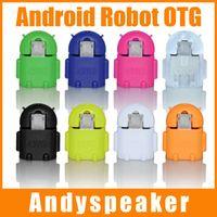 Compra Adaptador s2-Micro USB a USB OTG Adaptador Robot de Android de Forma Adaptador OTG para Samsung Galaxy S2/S3/S4 USB para Conectar un Flash/Teclado/Ratón Universal