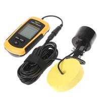 0.6-183 Meter fish finder - Portable Sonar Sensor Fish Finder Fishfinder Alarm Beam Transducer ft m Depth H1863