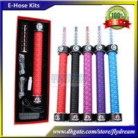 Black flydream - HOT Starbuzz E Hose E Hookah Hose Electronic Cigarettes Various Flavors Shisha Vapor Cartridges E Hose Starter Kit Ecigs Flydream