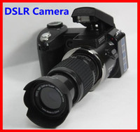 Wholesale Hot sale popular fashion D3000 MP HD DSLR Camera w x Telephoto amp Wide Angle Lens cheap Camera