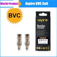 100% первоначально Aspire BVC Катушка для Aspire Nautilus Nautilus Mini Замена Нижняя вертикальная катушка 1.6ohm 1.8ohm DHL свободный 002425