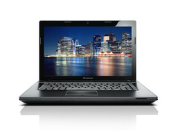 Wholesale 14 quot Lenovo G400AM I5 inch G G Laptop AMD Radeon HD8570M Windows System DVD ROM i5 M GHz notebook Computers