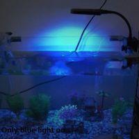 aquarium tank light - Blue White V Flexible Aquariums Accessories Aquarium Fish Tank LEDs Clip Light Lighting Lamp Touch Switch Modes H10840