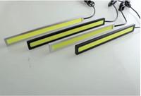 Wholesale 2 CM COB LEDs Universal Ultra thin Digid LED Strip Car Daytime Running Light DRL Warning Fog Decorative Lamp Universal DRL Waterproof