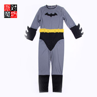 Anime Costumes Unisex People Halloween Batman Clothing Prom dress party costume performing magic Square adult men Batman movie character costumes suit Cosplay Sc21