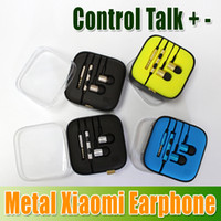 For Chinese Brand   DHL Free New Arrival 4 Colors Metal XiaoMi Piston Earphone Headphones Headset with Remote Control and Mic For XiaoMi mobile phone churchill