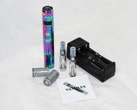 Single   2014 newest Rainbow Vamo v5 e cig starter kit vamo v5 Ego vv vw mod E- huge vapor ego Battery ecig electronic cigarette Kit 1 pcs