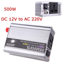 500W - 1000W ac dc voltage adapter - Vehicle W Inverter Car Power Inverter Converter DC V to AC V USB Adapter Portable Voltage Transformer Car Chargers K1330EU