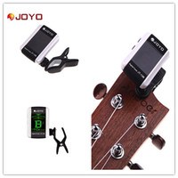 Guitar acoustic guitars sale - Hot Sale Digital LCD Clip on Tuner for Electronic Acoustic Guitar Bass Violin Ukulele Musical Instrument JOYO JT B I360
